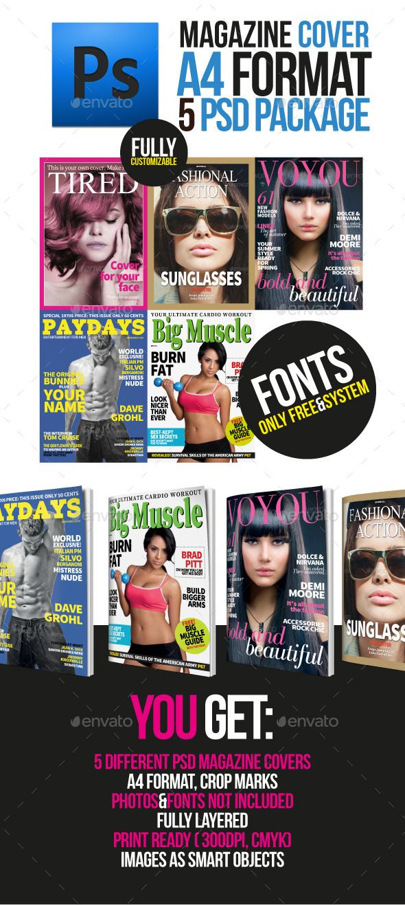 Best 25+ Magazine cover template ideas on Pinterest | Indesign ...