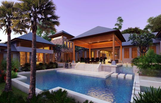 bali house a prestigious home with an exotic feel brentnall