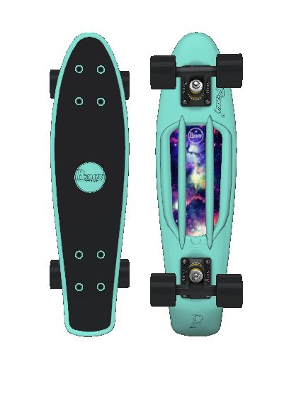 I Customized a Penny board I just don't like the Galaxy part