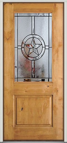 39 best images about texas star doors on pinterest glass for Half glass exterior door