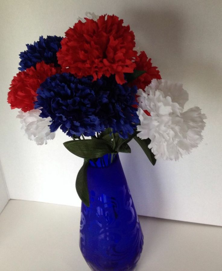 30 Patriotic Home Decoration Ideas In White Blue And Red: 25+ Best Ideas About Memorial Day Decorations On Pinterest