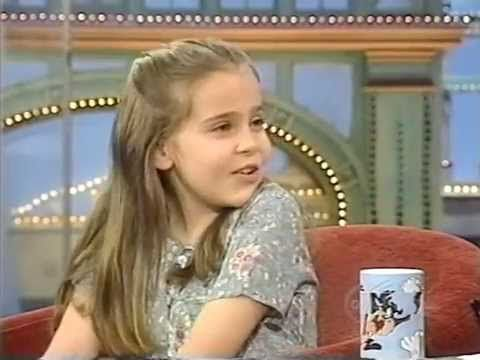 Mae Whitman interview 1998.  Age 9 (with Sandra Bullock.) on 'Rosie O.D.S'.