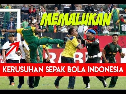 DAFTAR KERUSUHAN SEPAK BOLA INDONESIA PALING MEMALUKAN - FOUNDER GTC
