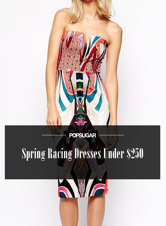 27 Spring Racing Dresses Under $250