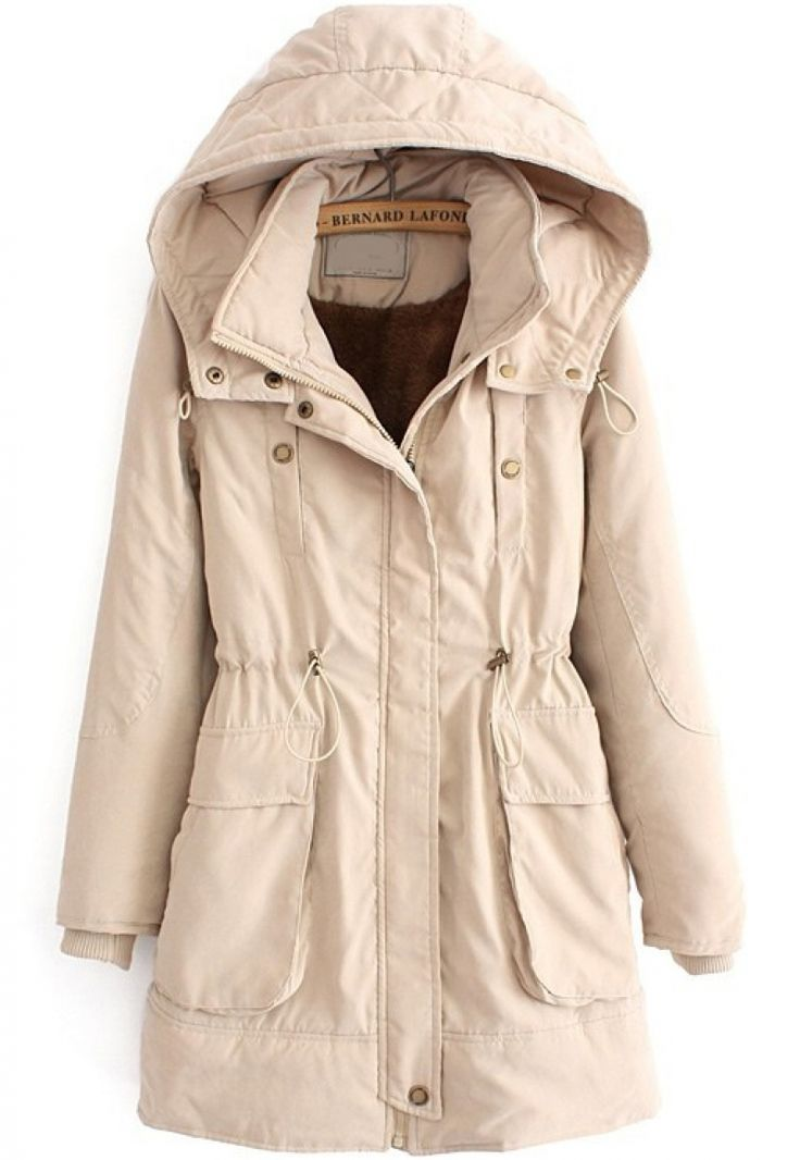 Casual draw string coat $61.50