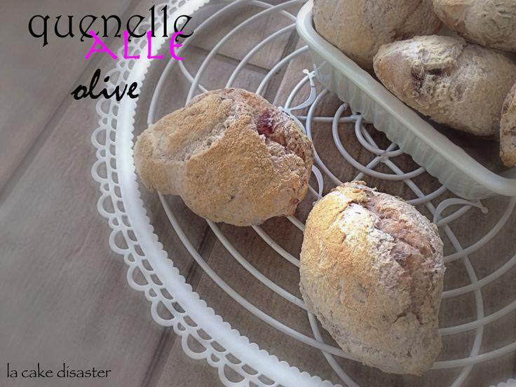Quenelle alle olive gluten free #ricetta di @lacakedisaster