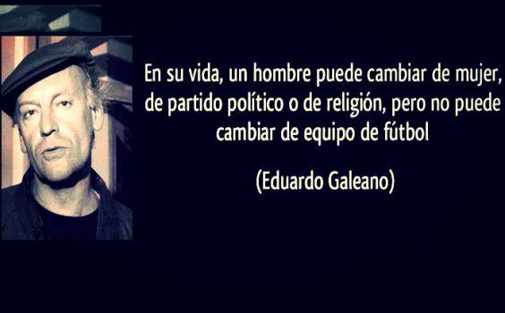 El futbol es la única religión que no tiene ateos: Frases de Eduardo Galeano sobre el futbol