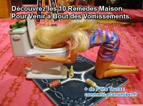 Heureusement, il existe des remèdes maison que vous pouvez utiliser pour soulager les vomissements et vous sentir mieux.  Découvrez l'astuce ici : http://www.comment-economiser.fr/10-remedes-maison-contre-les-vomissements.-.html?utm_content=buffer24b10&utm_medium=social&utm_source=pinterest.com&utm_campaign=buffer