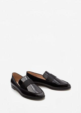Patent loafers -  Women | MANGO USA