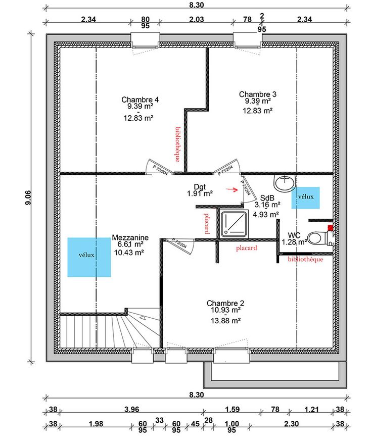 Plan maison 120m2 recherche google architecture for Google plan maison
