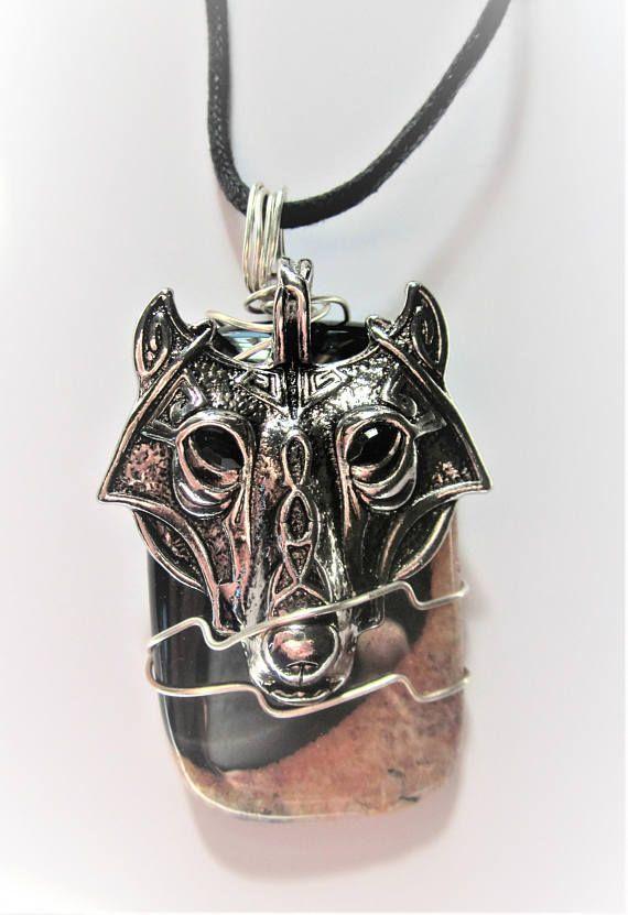 Wolf totem necklace - photo#42
