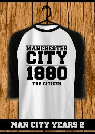 ourkios  - Man City Years Tshirt