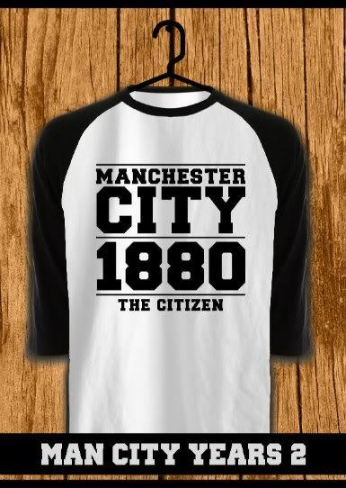ourkios  - Man City Years Tshirt