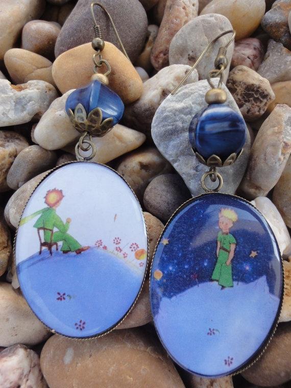 The Little Prince - Le Petit Prince earrings