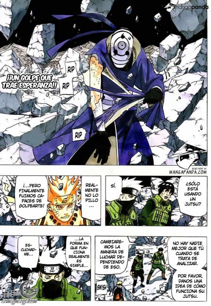 Naruto 597 — Shinshin Fansub — submanga (con imágenes