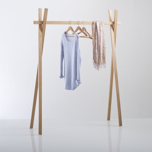 Uyen Oak Clothes Rack La Redoute Interieurs | La Redoute Mobile