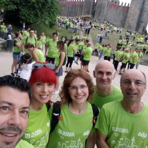 EDP running wonders 2017  Meia Maratona de Guimarães  Corrida dos Conquistadores  Done! Caminhada Solidária Cercigui  #euvou #cercigui #Guimarães #TheTree2017#TheTreewellness #TheTreeTeam  #edprunningwonders2017 #omelhorcircuitodesempre...