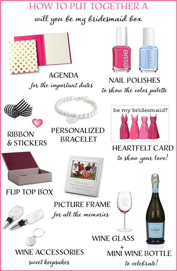 """How to Create a """"Will You Be My Bridesmaid"""" Box + a GIVEAWAY! http://www.theperfectpalette.com/2014/08/how-to-create-will-you-be-my-bridesmaid.html"""