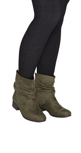 Easily Suede Ankle Boots