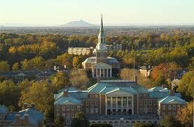 Wake Forest University, this was a heavenly place for Seth--this and New York City