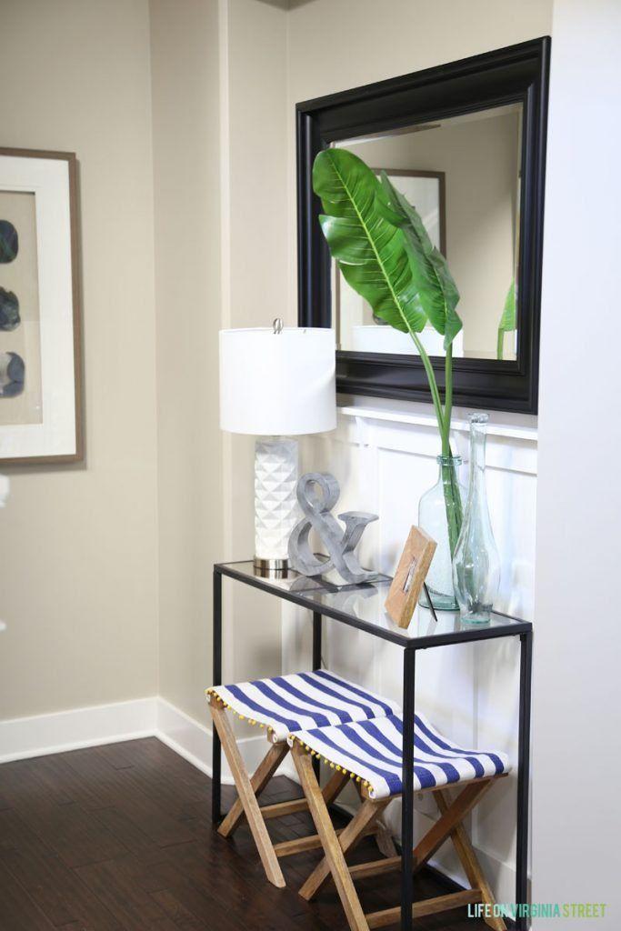 Blue Foyer And Hallway : Best ideas about hallway decorating on pinterest
