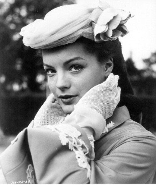 Actrice Romy Schneider (1938-1982)