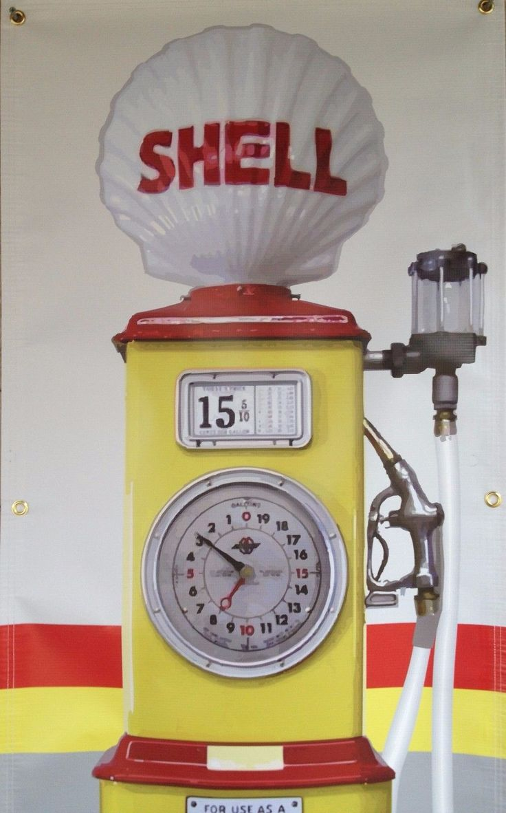 17 best ideas about shell gas station on pinterest for Cleveland gas station mural