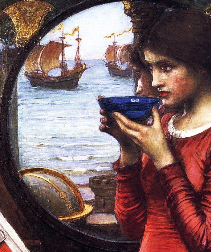 396 best John William Waterhouse paintings images on Pinterest