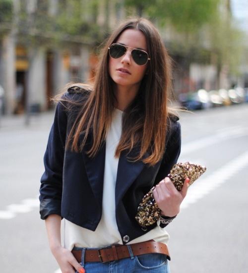 jean classy.A Mini-Saia Jeans, Boyfriend Jeans, Fashion, Casual Chic, Street Style, Outfit, Black White, Denim, Boyfriends Jeans