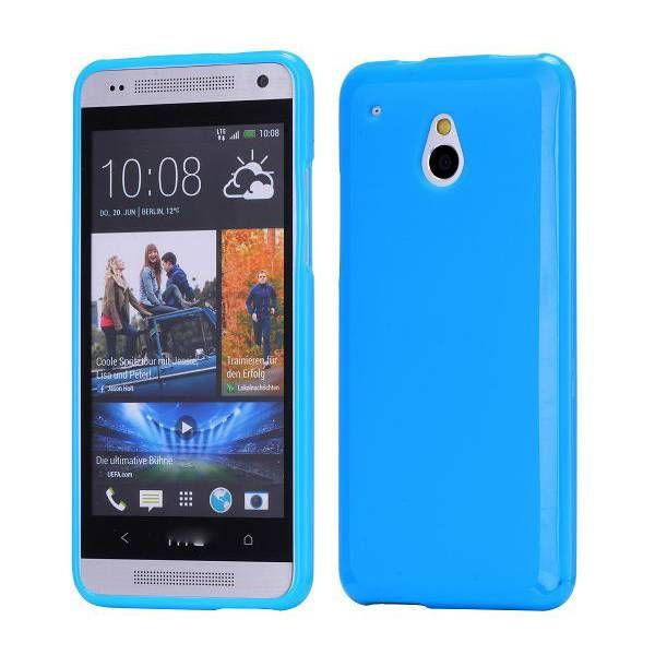 Blauw TPU hoesje voor de HTC One mini