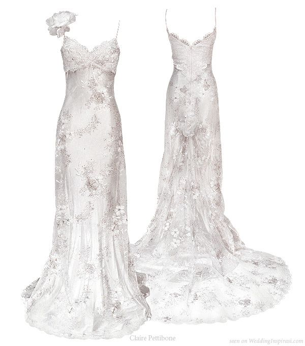 Cherry Blossom wedding dress from Claire Pettibone 2010 bridal collection