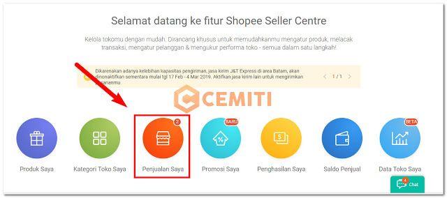 Cara Memproses Orderan Shopee Via Jnt Perasaan Blog Website
