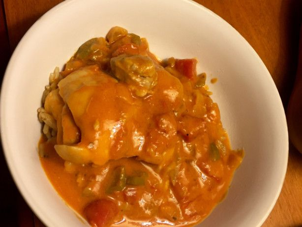 This traditional recipe from Botswana is for a classic stew of chicken cooked in a tomato, peanut butter and chili sauce. Adapted for a dinner featuring African-inspired foods.