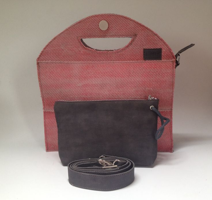 Bag, made of the used firehose