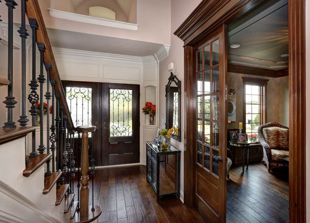 Barrington Homes, Foyer, Double Doors