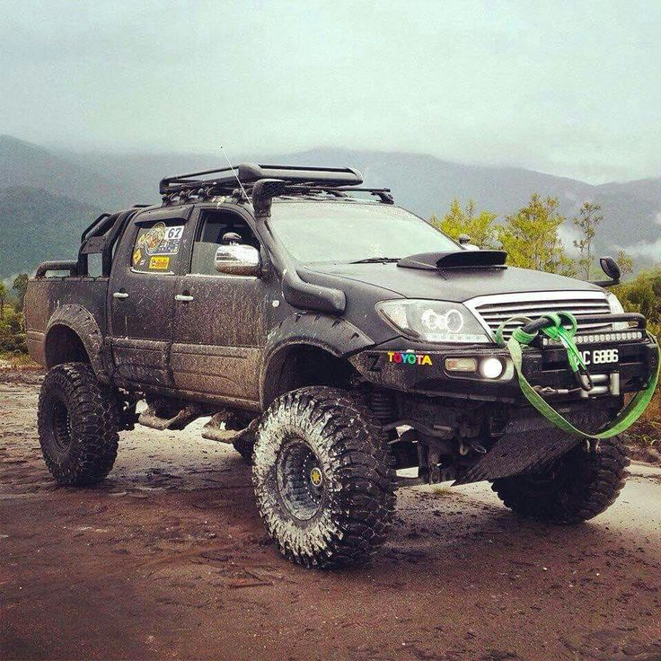 Lifted Toyota Hilux                                                                                                                                                      More