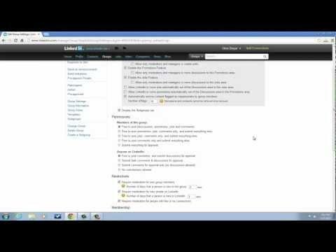 how to create a group on linkedin