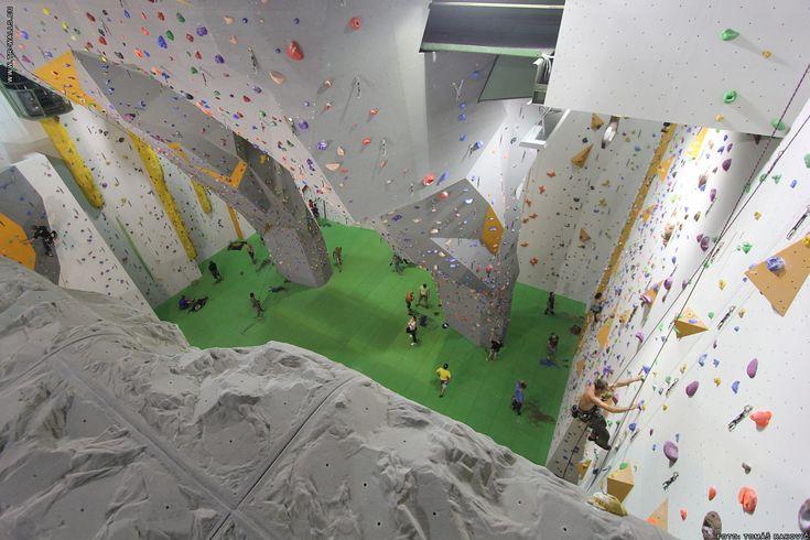 Webové stránky lezeckého areálu BigWall v Praze-Vysočanech.