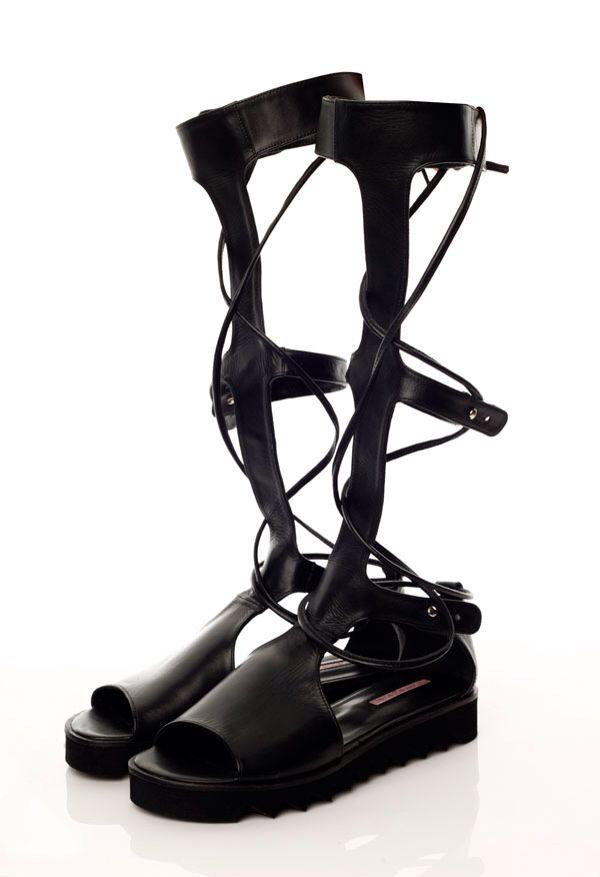 #mihaelaglavanss15 gladiator flat sandals