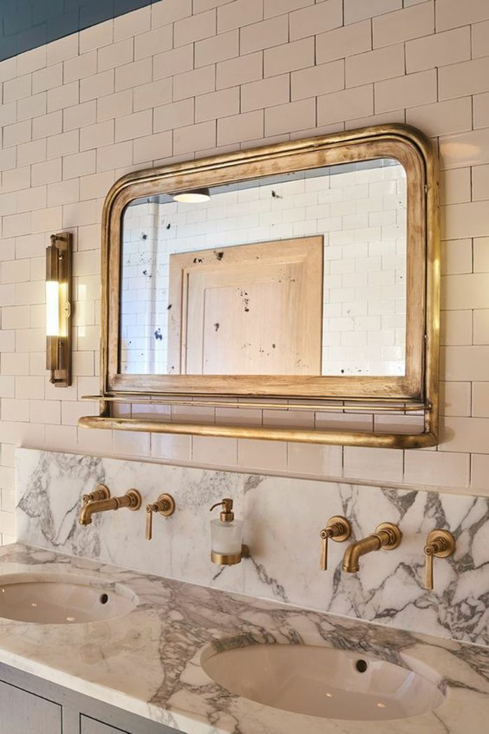 Les 25 meilleures id es concernant salle de bains de for Effet miroir paint