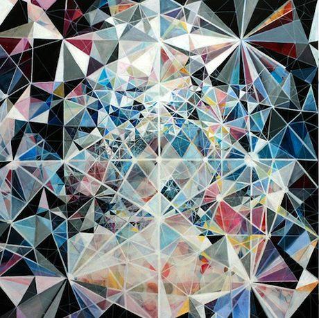 Geometric Print - kaleid.  o.  scope.