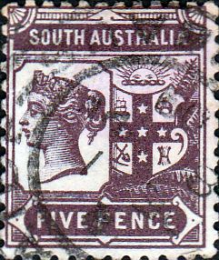 South Australia 1894 Queen Victoria SG 238 Fine Used SG 238 Scott 110 Other Australian Stamps here