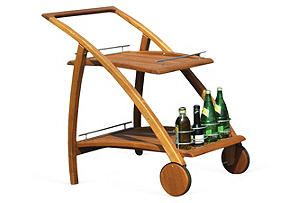 One Kings Lane - Hang Out Back - Riviera Serving Trolley