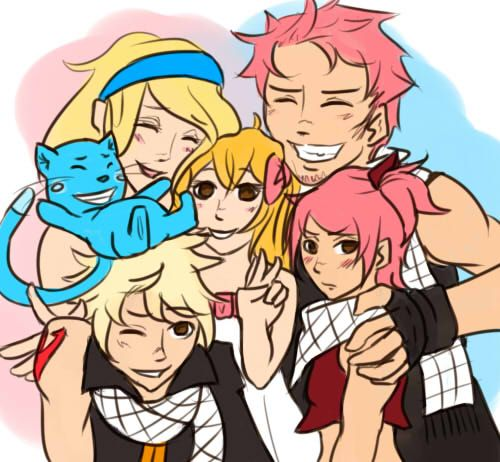 NaLu family by im-a-tu...