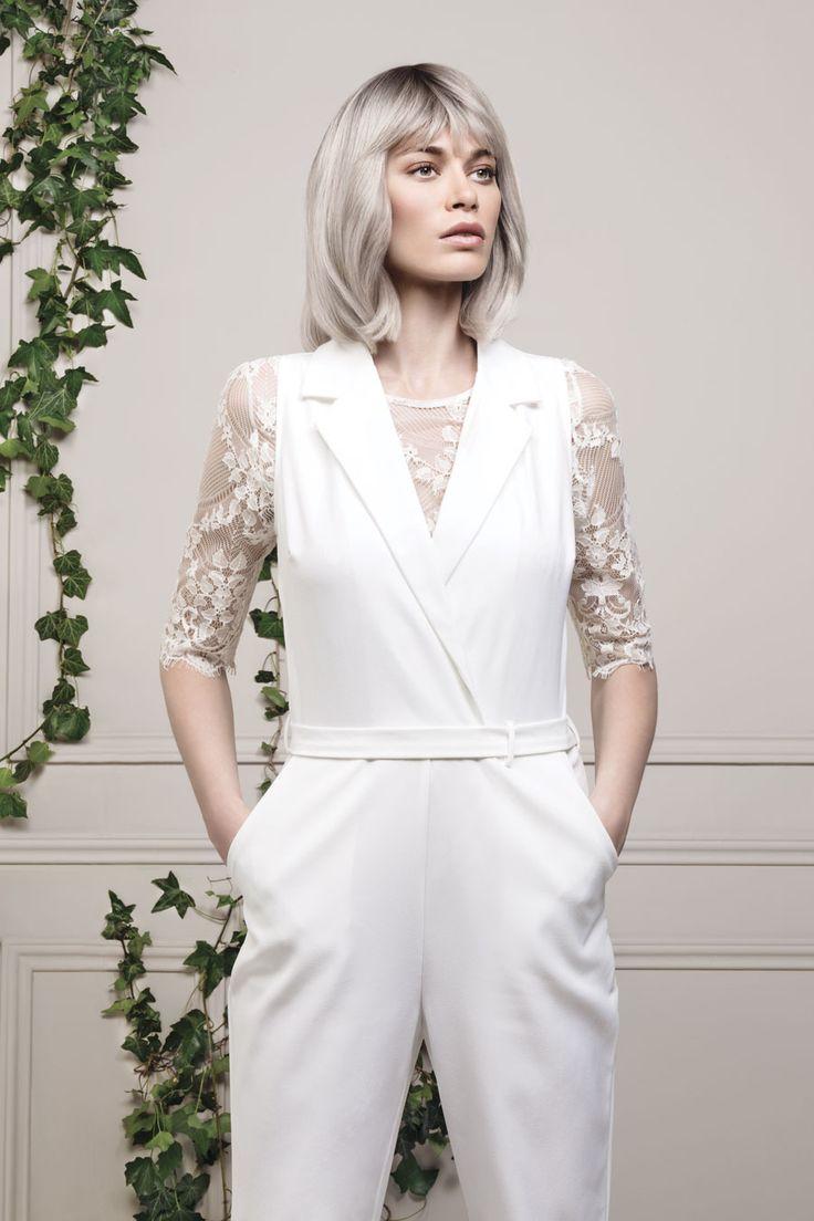 1000 id es sur le th me racines blondes sur pinterest contraste avec blond le fort du papier - Blond platine gris ...