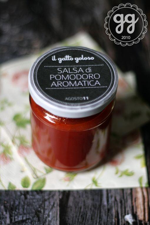 salsa aromatizzata