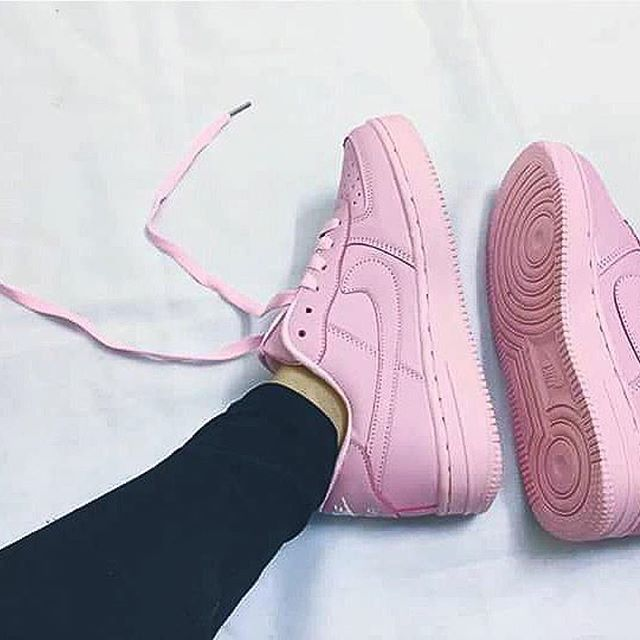Nike Air Force Kurz Pink