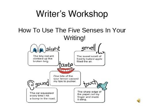Alfa img - Showing > Adding Sensory Details to Writing
