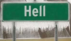 A Sign Hell Has Froze OverFly Pigs, Michigan, Winter, Funny Signs, Cold Day, Funny Stuff, Final Happen, Hells Froze, Hells Freeze