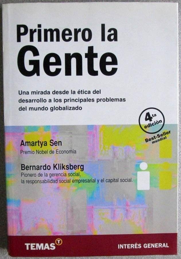 Primero La Gente 4ta Edición - Amartya Sen / Temas - $ 109.000 en ...
